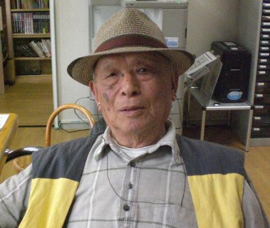 Shigeru Mizuki in Hat